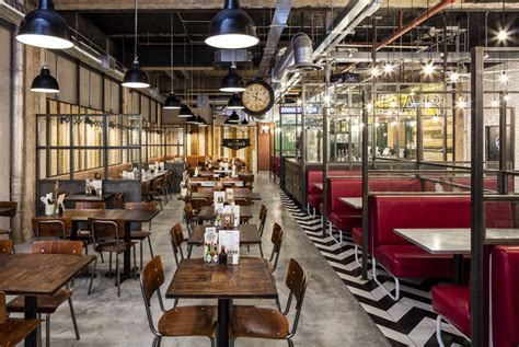Handmade Burger Co Birmingham - 2016 restaurant bar design awards announced archdaily
