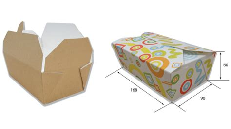 Lunch Box Paper grill lunch boxes delivery boxes paper food containers