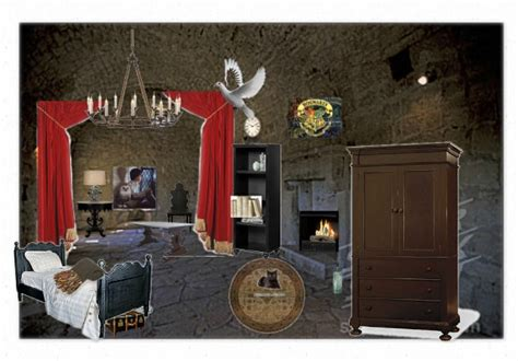 Bedroom Intruder Harry Potter 1000 Images About Harry Potter Bedrooms On