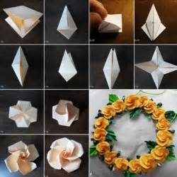 how to make floral arrangements step by step diy origami flowers step by step tutorials k4 craft