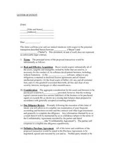Letter Of Intent Vs Agreement Letter Of Understanding Template Free Printable Documents