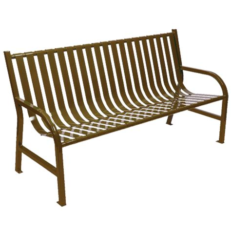 park bench metal metal park benches powder coated for lasting quality