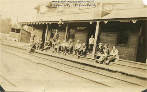Roxbury Post Office by Maine Memory Network Roxbury Station And Post