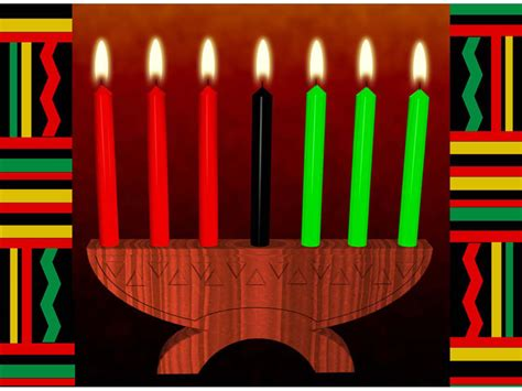 kwanzaa christmas costume  tradition history principle meaning   candle handel