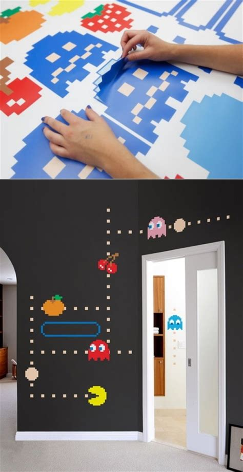 pacman wall stickers pac wall decals