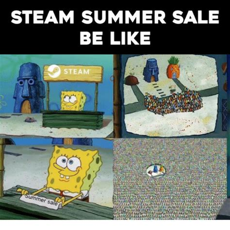 Steam Summer Sale Meme - 25 best memes about steam summer sales steam summer