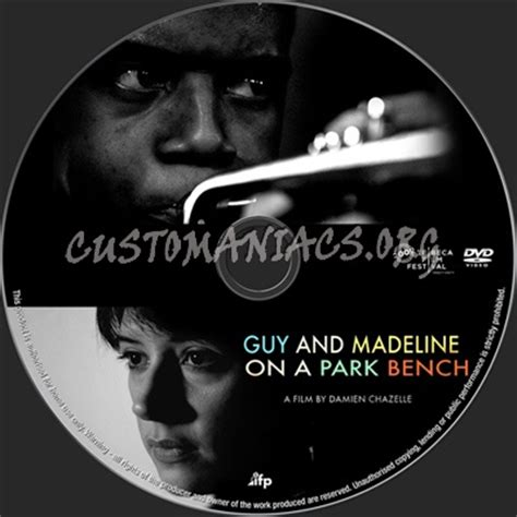 guy and madeline on a park bench guy and madeline on a park bench dvd label dvd covers
