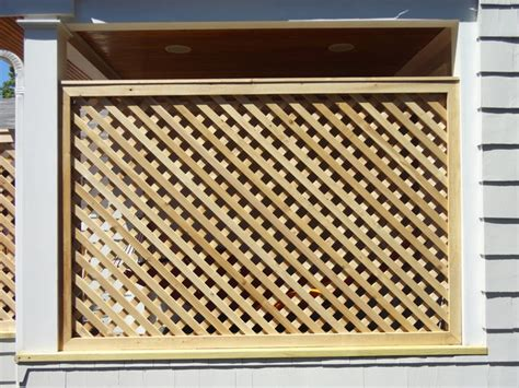 home designer pro lattice cedar lattice screens and enclosures other metro by
