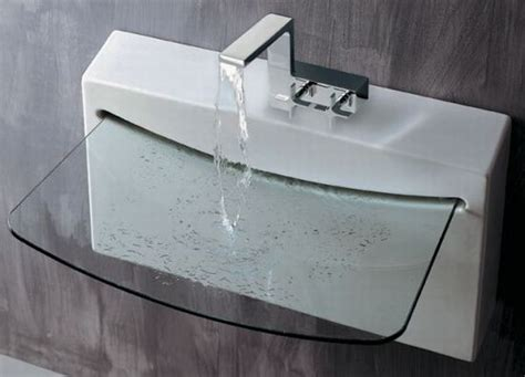 Glass Vanity Sinks by Eight Glass Sinks For Trendy Kitchens Hometone