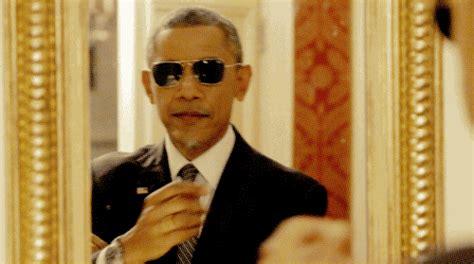 Obama Sunglasses Meme - president obama obamacare gif find share on giphy