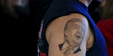 trump tattoo muslim kolumne der rote faden laut h 228 sslich trump taz de
