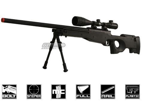 Airsoft Gun Rifle bravo mk98 bolt sniper rifle airsoft gun bipod package black