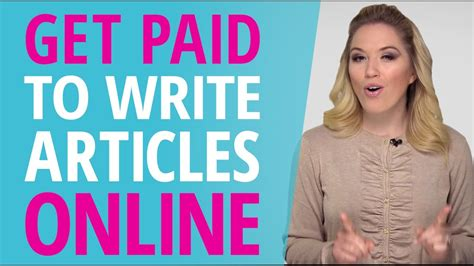 Get Paid To Write - get paid to write online for free literacy narrative