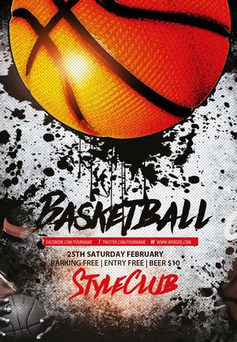 basketball flyer template free basketball free sport flyer template flyer