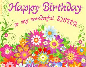 happy birthday sister free freeting online ecard