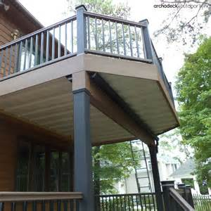Definition For Awning Two Story Deck Design Ideas By Archadeck St Louis Decks
