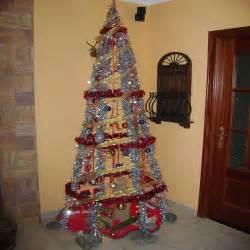 arbol de navidad casero bricomanualidades