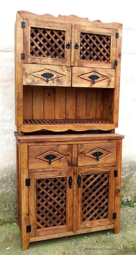 mueble alacena mueble de madera alacena rustico con celosia c comprar
