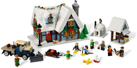 10229 winter village cottage klocki lego exclusive