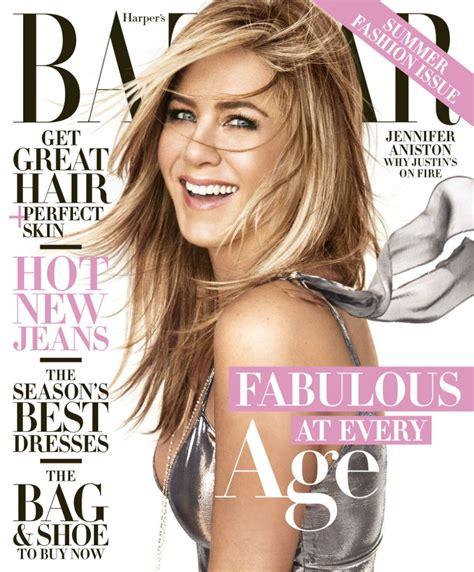 In Harpers Bazaar by Aniston In S Bazaar Magazine April 2016