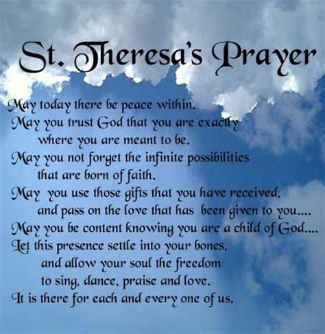 prayer of st quotes on prayer quotesgram