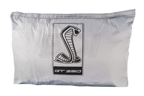 mustang shelby gt genuine ford weathershield car cover  snake logo shelby gt