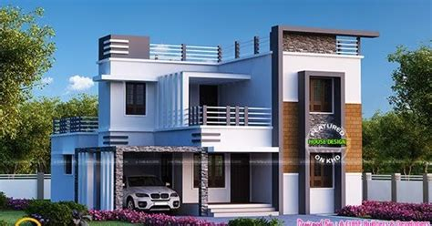 3 bedroom contemporary flat roof 2080 sq ft kerala home design and floor plans 4 bedroom flat roof modern home 2655 sq ft kerala home design and floor plans