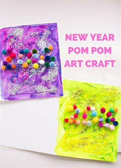 new year n craft new year pom pom craft for make pom pom