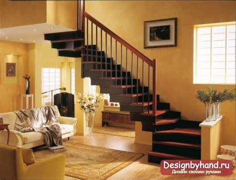 Дизайн первого этажа с лестницей фото