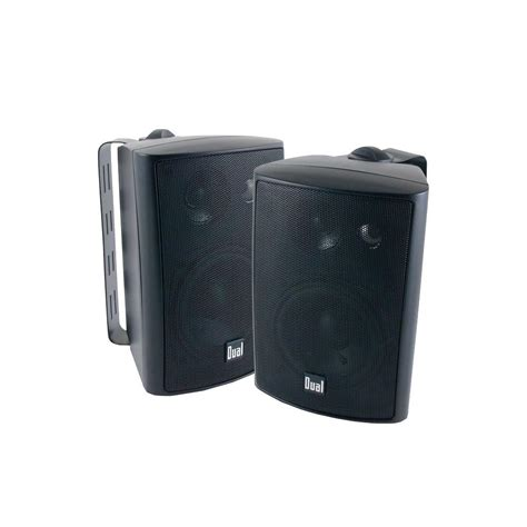 backyard speakers dual 100 watt 3 way indoor outdoor speakers lu43pb the