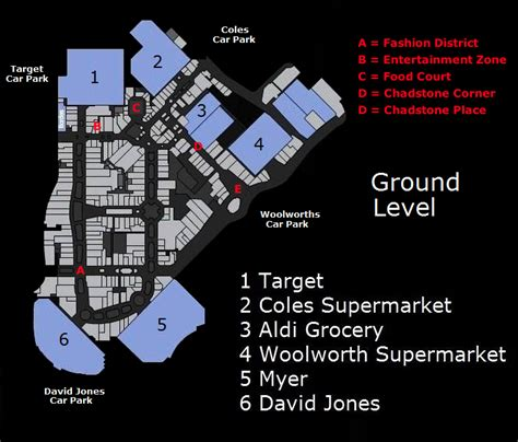 chadstone shopping centre floor plan original graphic from http www chadstoneshopping com au