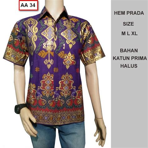Kemeja Pria Trendy Busana Pria Bergaya Lengan Pendek Baju Pria 40 foto model kemeja baju batik pria lengan pendek terbaru busanamuslimpria