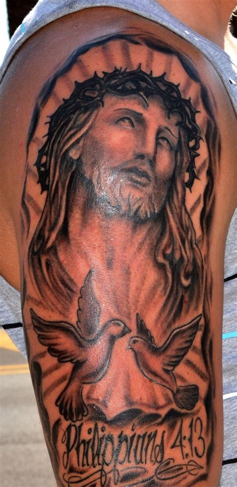 3 4 sleeve tattoo designs 24 best religious sleeve tattoos for 3 4 images on