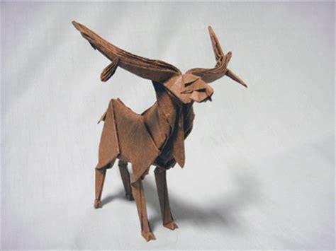 Origami Deer Diagram - deer