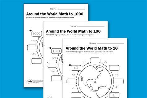 What In The World Worksheets by Worksheet Wednesday Around The World Math Paging Supermom
