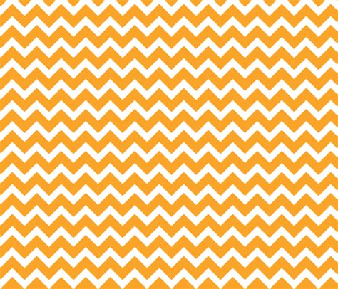 Orange Chevron spoonflower