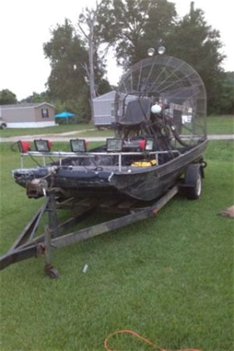 chion boat trailer lights bowfishing airboat for sale