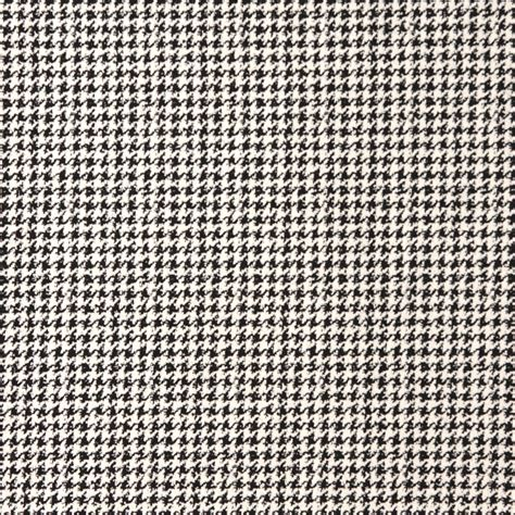 Black And White Upholstery Fabric by Houndstooth Onyx Black And White Tweed Damask Upholstery