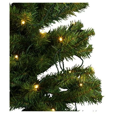 buy tesco 6ft pre lit christmas tree with warm white led