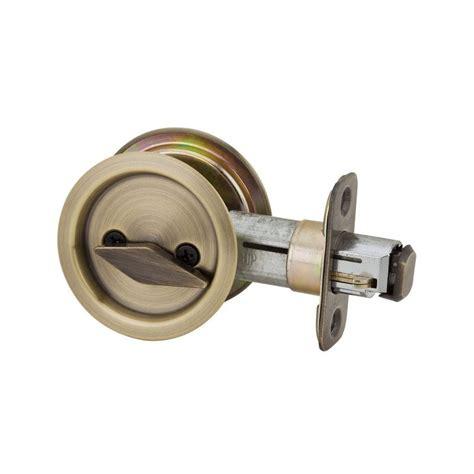 Kwikset Door Lock by Kwikset Model 335 Pocket Door Lock Privacy