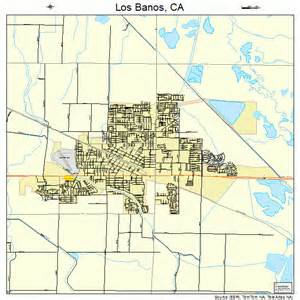 map of los banos california los banos california map 0644028