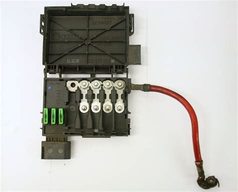 Used Genuine Vw Golf Vw Golf Mk4 Fuse Box On Top Of