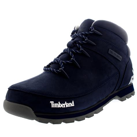 mens all black timberland boots mens timberland sprint hiker casual walking mid top