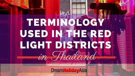 terminology    red light districts  thailand