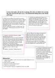 printable short jokes english teaching worksheets jokes