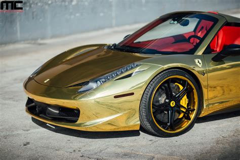 gold ferrari wallpaper black and gold ferrari 10 cool hd wallpaper