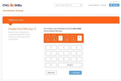 diba bank banking kostenloses ing diba girokonto mit kreditkarte im test 2018
