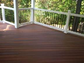 composite decking with a hardwood look st louis decks screened porches pergolas by archadeck