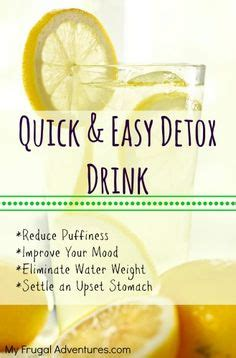 Easy Home Detox Program by Detox Drinks On