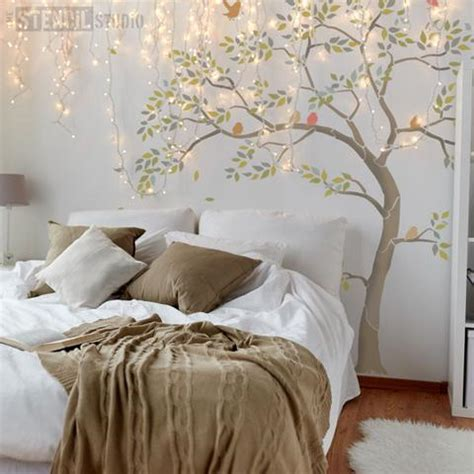 tree stencil for wall mural nursey tree stencil pack for rooms and nursery wall